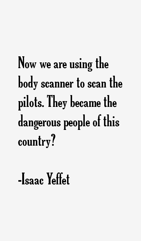 Isaac Yeffet Quotes