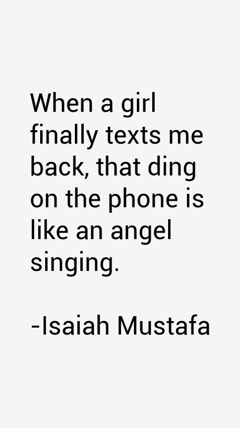 Isaiah Mustafa Quotes