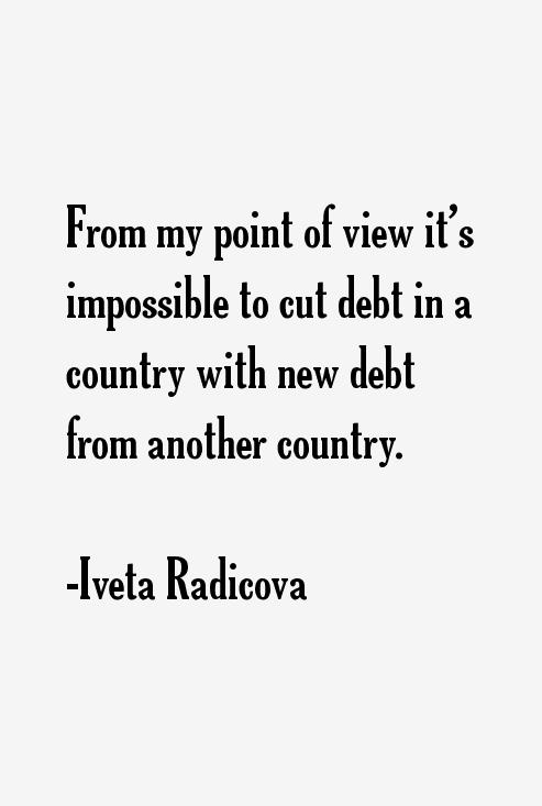Iveta Radicova Quotes