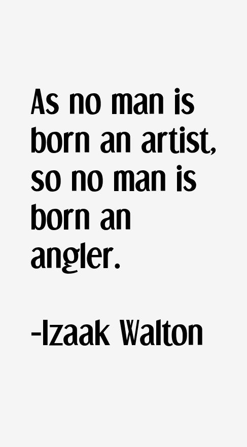 Izaak Walton Quotes
