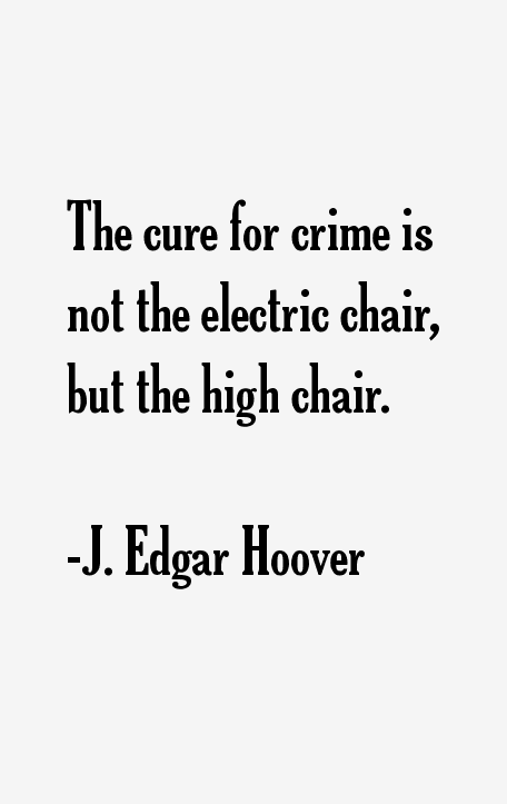 J. Edgar Hoover Quotes