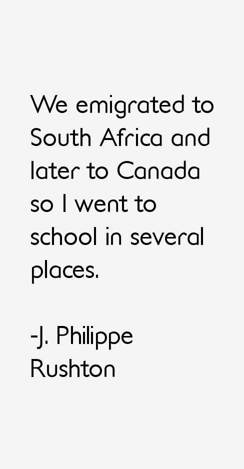 J. Philippe Rushton Quotes