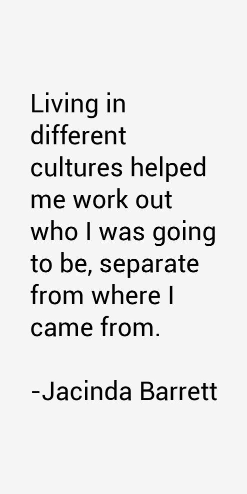 Jacinda Barrett Quotes