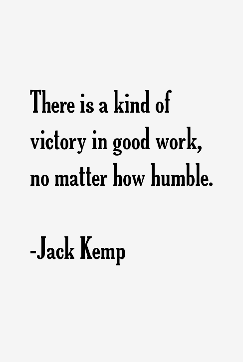 Jack Kemp Quotes