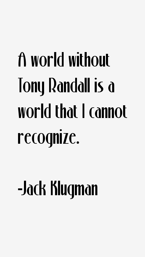 Jack Klugman Quotes