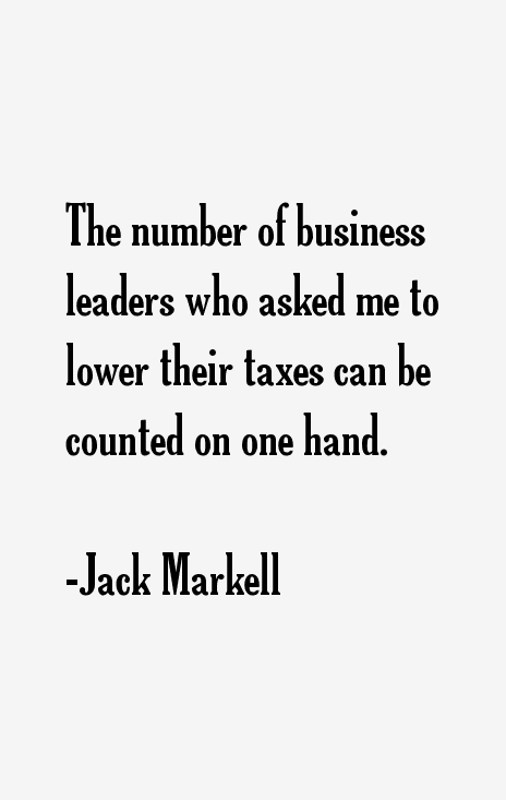 Jack Markell Quotes