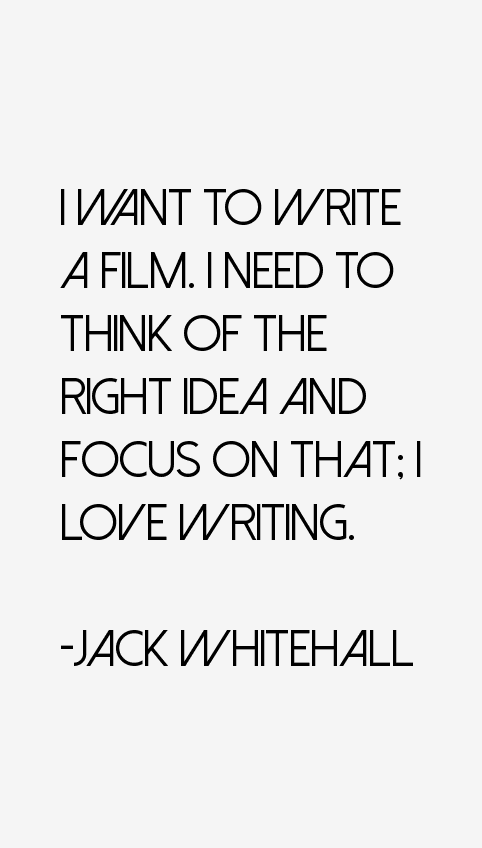 Jack Whitehall Quotes