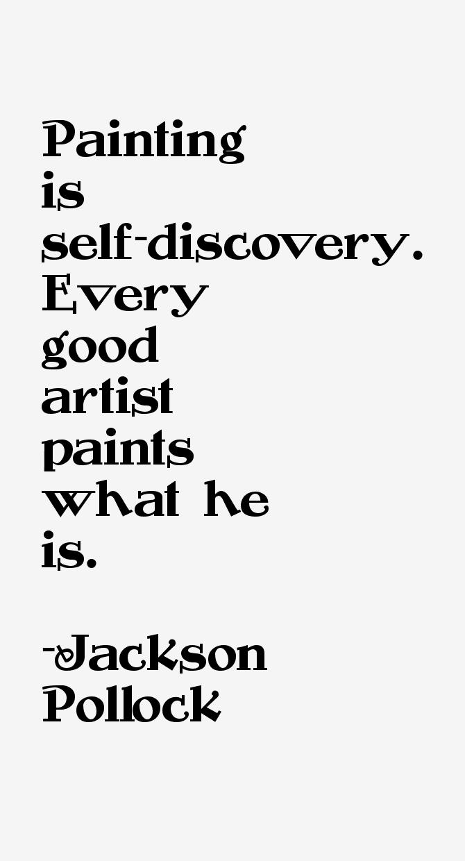 Jackson Pollock Quotes