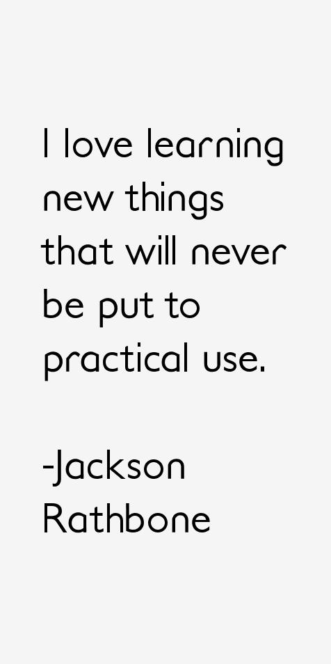 Jackson Rathbone Quotes