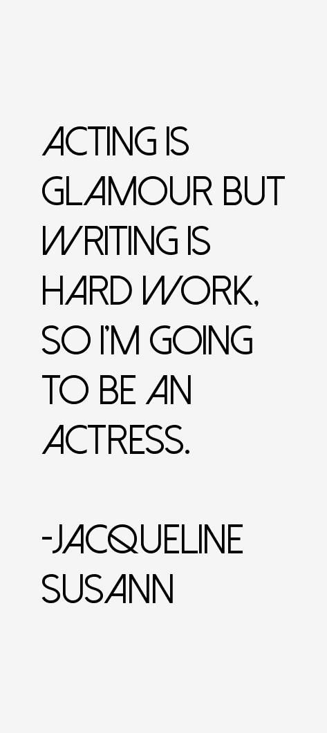 Jacqueline Susann Quotes