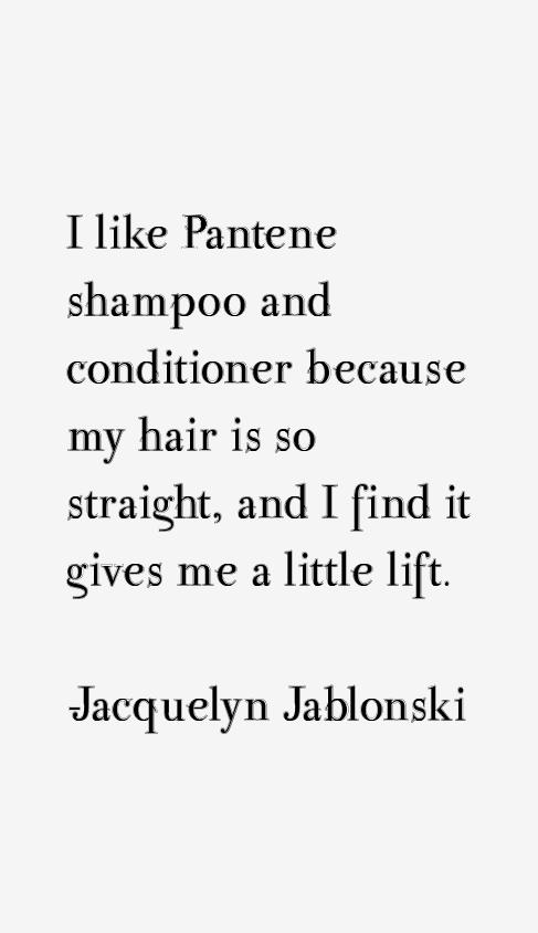 Jacquelyn Jablonski Quotes