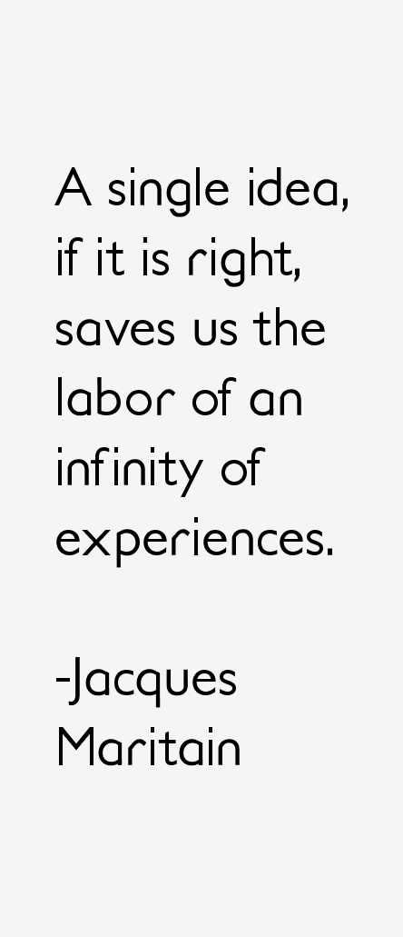 Jacques Maritain Quotes