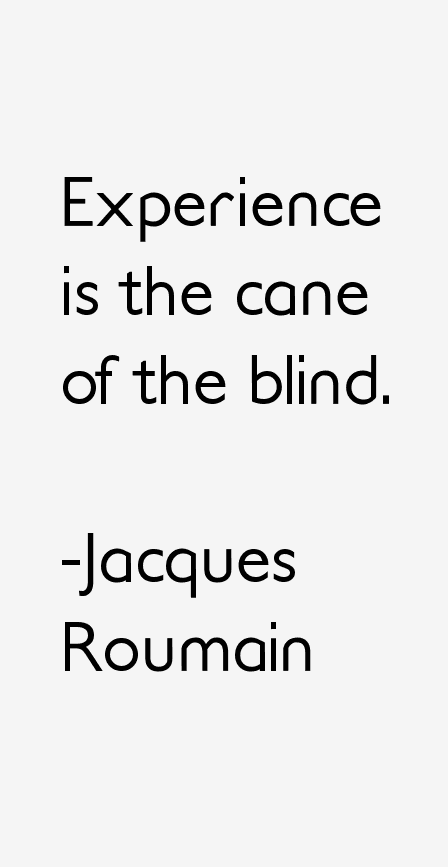 Jacques Roumain Quotes