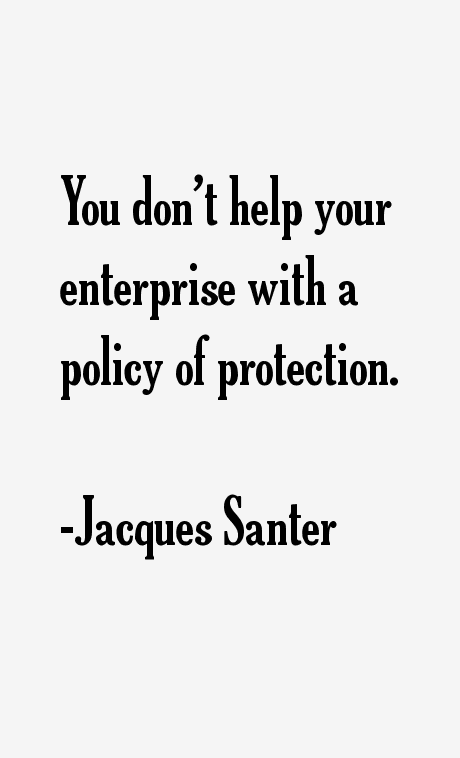 Jacques Santer Quotes