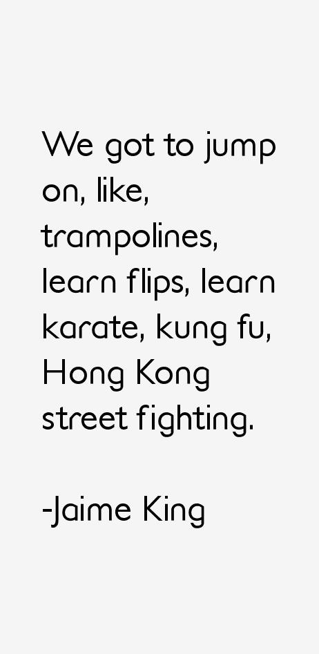Jaime King Quotes