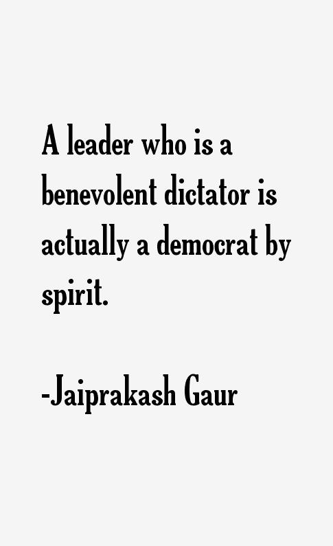 Jaiprakash Gaur Quotes