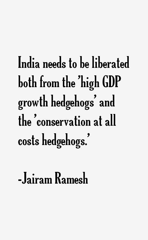 Jairam Ramesh Quotes