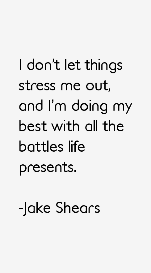 Jake Shears Quotes