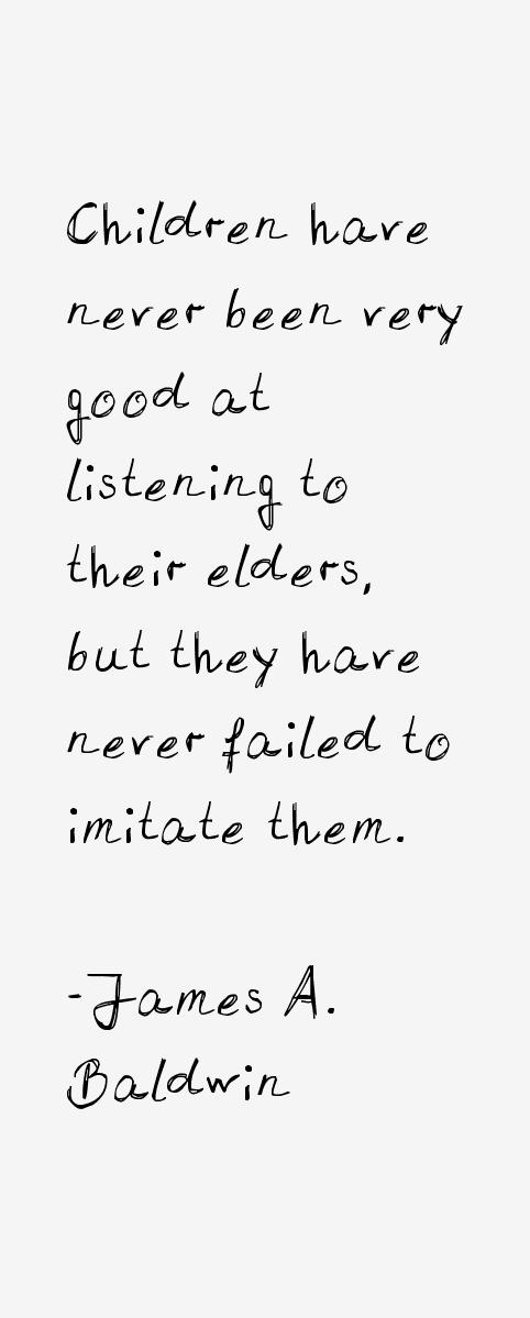 James A. Baldwin Quotes