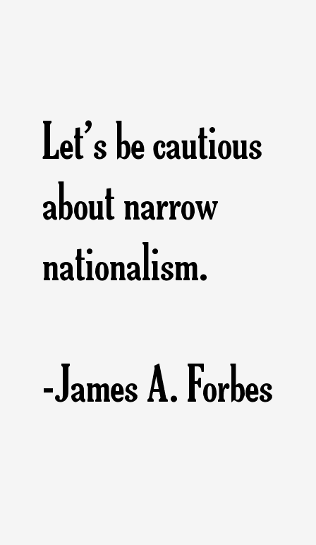 James A. Forbes Quotes