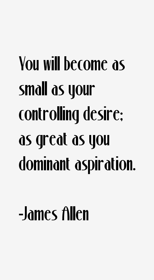 James Allen Quotes