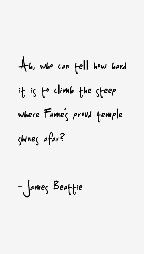 James Beattie Quotes