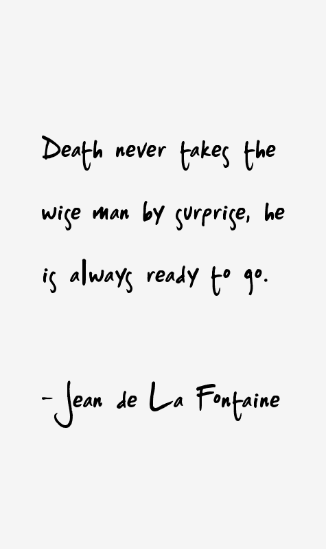 Jean De La Fontaine Quotes Sayings