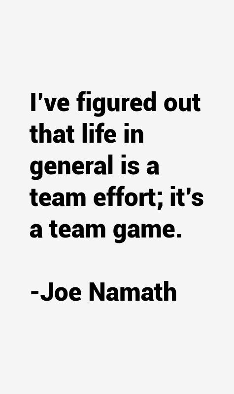 Joe Namath Quotes Quotesgram