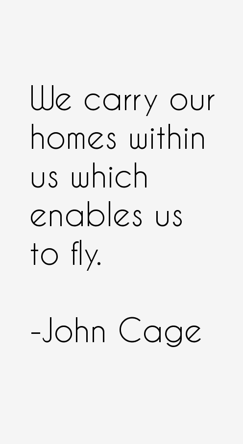 Essay about john cage quotes