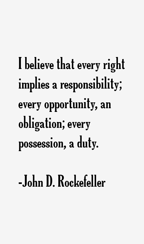 John D Rockefeller Quotes Sayings Page 2