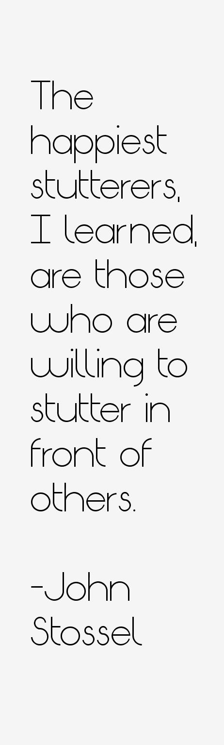 Dating for stutterers