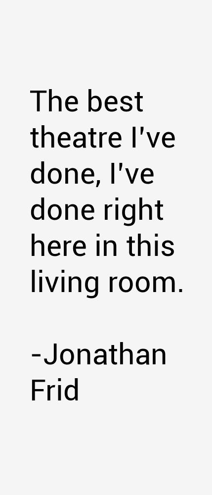 Jonathan Frid Quotes