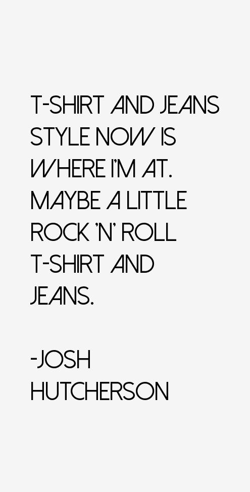 Josh Hutcherson Quotes