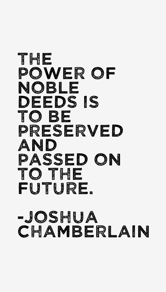 Joshua Chamberlain Quotes