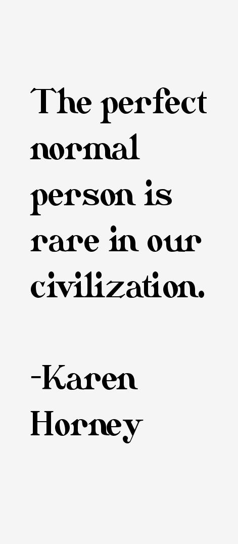 Karen Horney Quotes