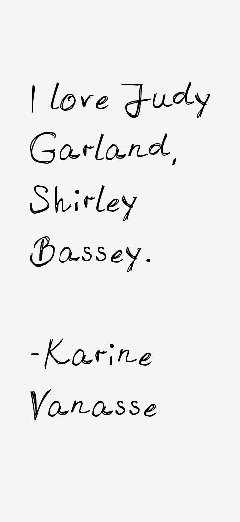 Karine Vanasse Quotes