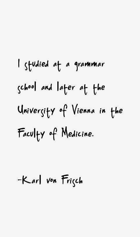 Karl von Frisch Quotes