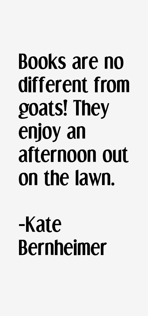 Kate Bernheimer Quotes