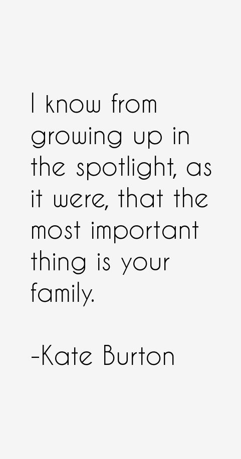Kate Burton Quotes