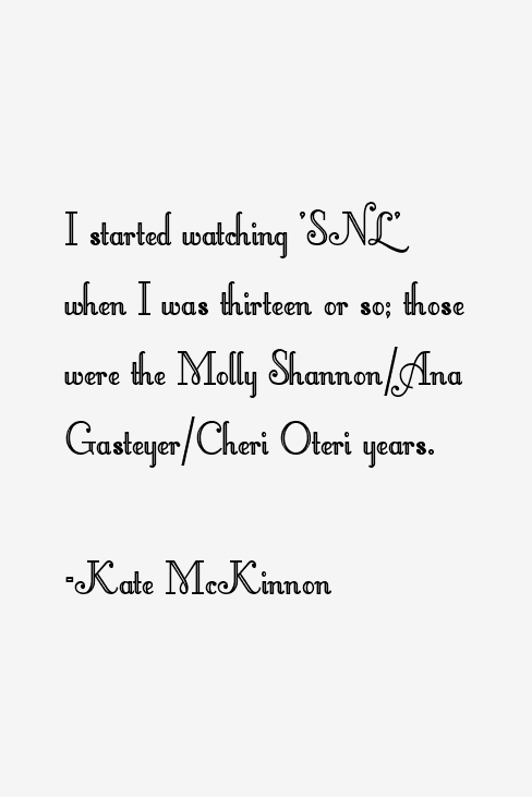 Kate McKinnon Quotes