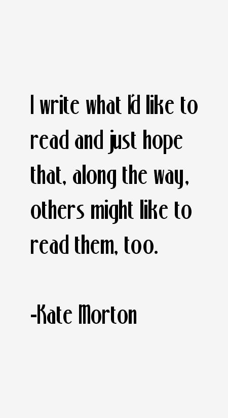 Kate Morton Quotes