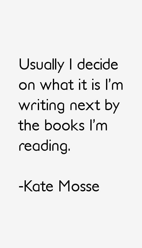 Kate Mosse Quotes