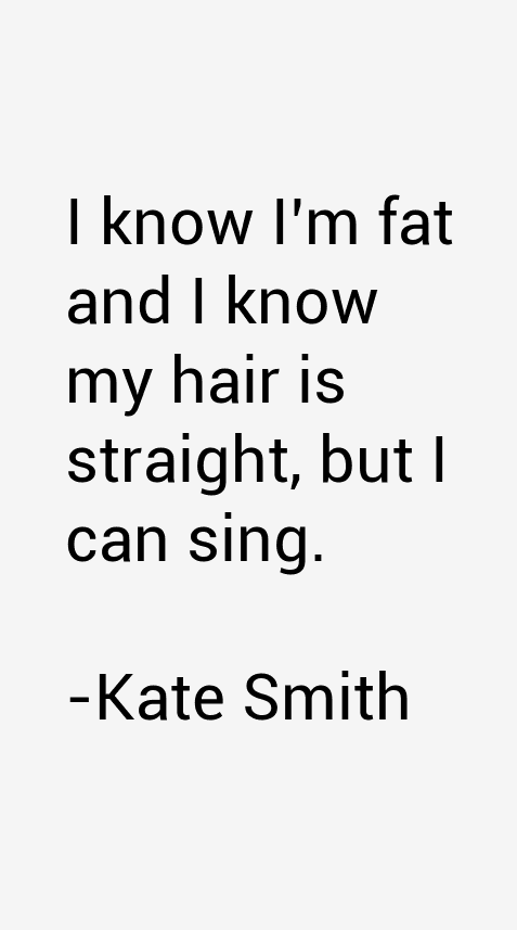 Kate Smith Quotes