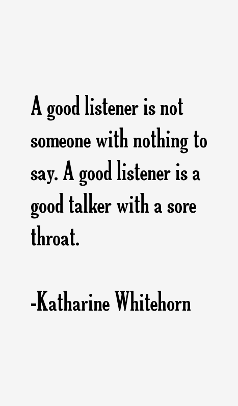 Katharine Whitehorn Quotes
