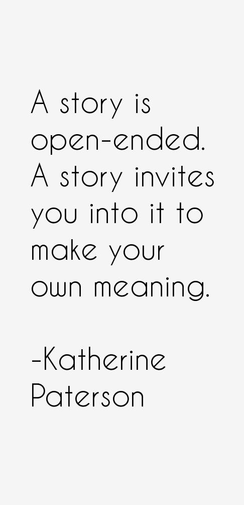 Katherine Paterson Quotes