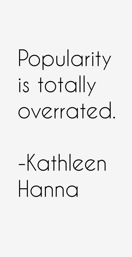 Kathleen Hanna Quotes