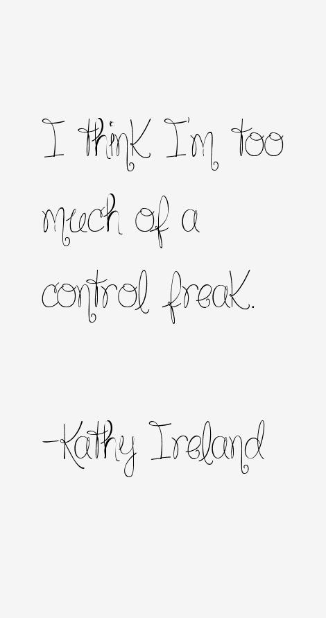 Kathy Ireland Quotes