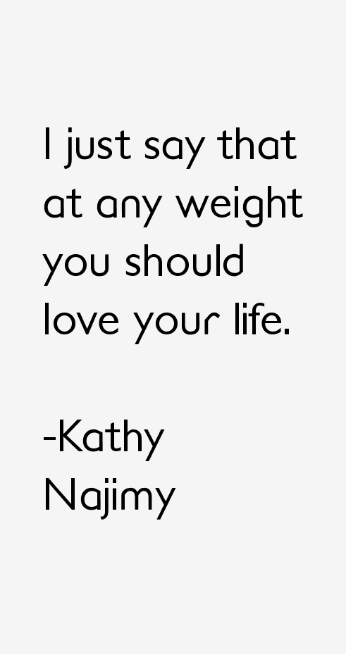 Kathy Najimy Quotes