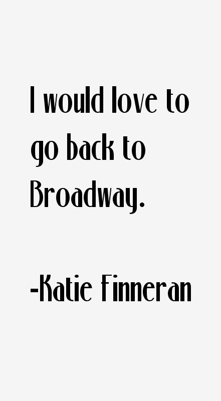 Katie Finneran Quotes