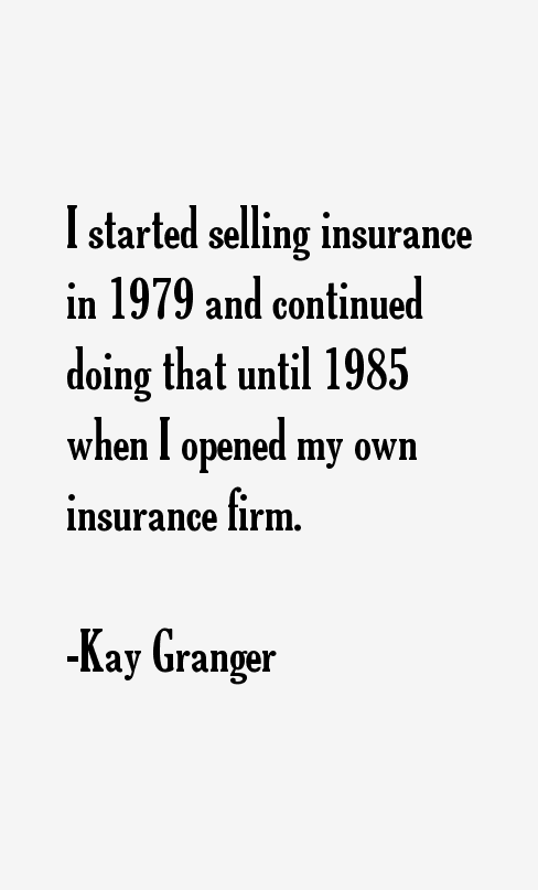 Kay Granger Quotes